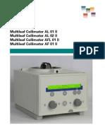Datasheet Siemens Collimatora