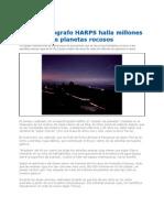 Hallan Millones de Planetas Rocosos 2012