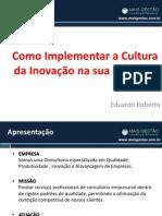 palestra-inovacao MaisGestão consultoria&Treinamento