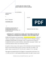 FORECLOSURE Response to JP Morgan Chase Foreclosure