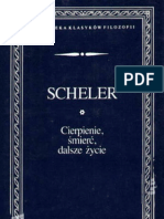 Max Scheler - Cierpienie Smierc, Dalsze Zycie