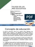 La ontología de los sistemas educativos