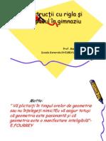 Constructii Rigla Compasul Radu Mariana