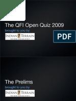 QFI Open Quiz Prelims