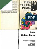 Toda Violeta Parra. Alfonso Alcalde 1974