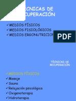 TECNICAS DE RECUPERACION