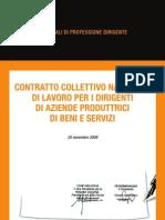 Contratto Dirigenti 2009