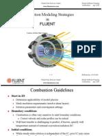 Combustion Modeling Strategies FLUENT