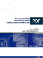 10 Reasons You Absolutely Need a Reporting Solution for Active Directory to Pass Audits