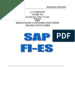 Sap Fico Enterprise Structure Configuration