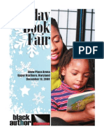 Black Author Showcase Holiday Book Fair Program