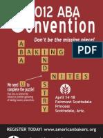 Aba Convention Brochure 2012