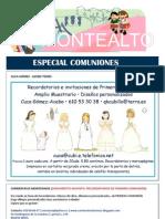 Boletín Especial Comuniones