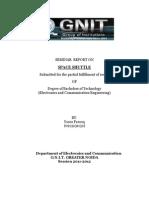 Seminar Report On