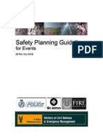 Event Safety Guideline Dec2003