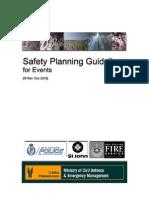Event Safety Guideline Dec2003