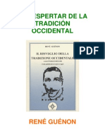 Guenon Rene - El Despertar de La Tradicion Occidental