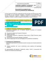 00-Relacin Documentos PEA Apr End Ices (1)