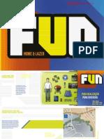 Caderno do Ed. FUN Samambaia - Lançamento de 2 qtos