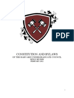 UC Constitution and Bylaws 20121