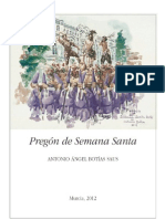 Pregon Semana Santa Murcia