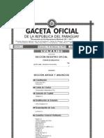 Ley Nº 3966 - ORGANICA MUNICIPAL - Portal Guarani - Paraguay