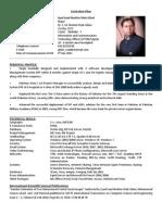 Curriculum Vitae - Syed Saad Gilani