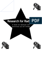 Research for Radicals