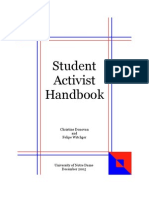 Student Activist Handbook