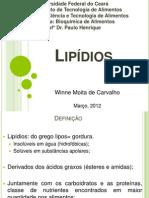 Apresentação de bioquímica 2012.1
