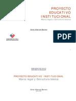 01.PEI Marco Legal y Estructura