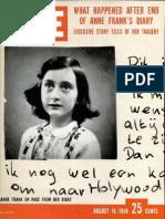 Anna Frank - LIFE 1958