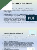 Metodo de Investigacion DESCRIPTIVA