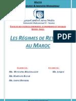 Les Régimes de retraite au Maroc