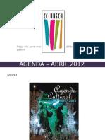 AGENDA – ABRIL 2012