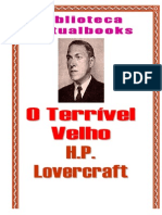 H P Lovecraft - O Terrivel Velho