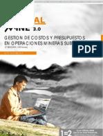 DV61 - Abr09 - Gestion de Costos Operaciones Subterranea