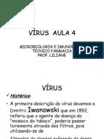 VÍRUS  AULA 4