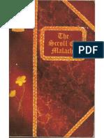 Scroll of Malachi
