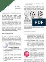 Química Aplicada - Modelo Atomico Calculo Estequiometrico