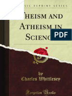 Theism and Atheism in Science