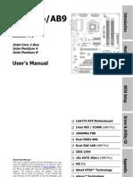 Abit Ab9 Series Manual