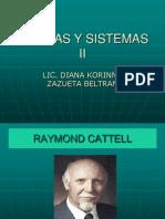 Teorias y Sistemas II Cattell