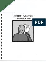 Reams Analysis 1