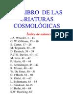 Libro de Las Criaturas Cosmologicas