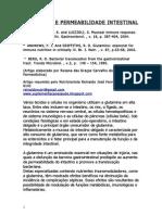 Glutamina e Permeabilidade Intestinal