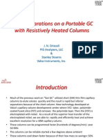 Rapid Separations on a Portable GC With Resistively(1)Pittcon12