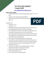 peraturan LTMikroJRC2009(2)