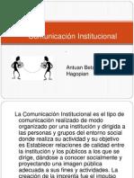 Comunicación    Institucional antu