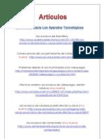 Adicciones a Aparatos Tecnológicos (Articulo)